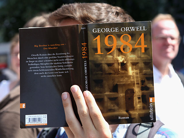 an overview of the irony in 1984 a novel by george orwell