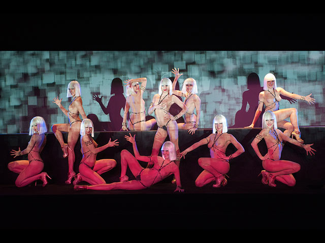 Легендарное французское кабаре Crazy Horse в Тель-Авиве: гастроли начинаются. Фоторепортаж(70ФОТО)