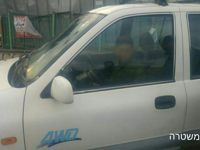 """В Кафр Кане задержан отец 11-летнего водителя: """"Он всего лишь парковал автомобиль"""""""