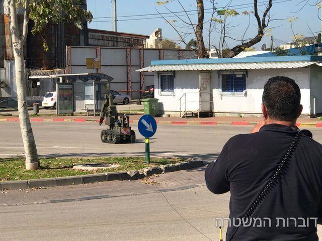 На месте происшествия в Рамат а-Шароне 17 февраля 2017 года