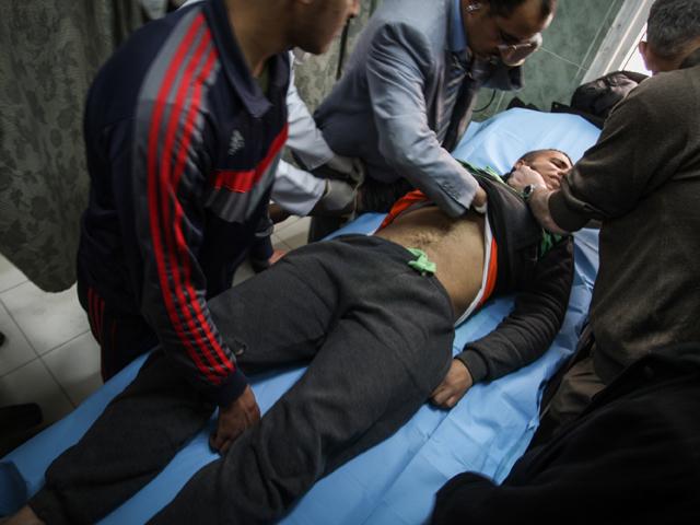 Рафах. Юг сектора Газы. 27 февраля 2017 года