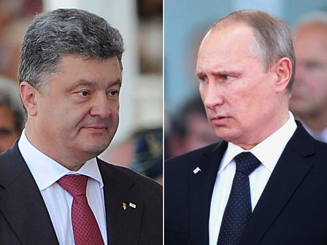 В Кремле сообщили детали телефонных разговоров Путина и Порошенко