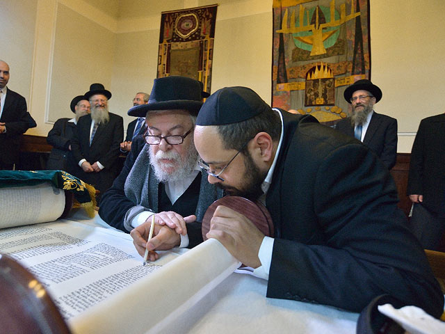 Знакомство в синагоге