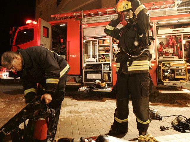 В результате пожара в Эйлате пострадали четыре человека