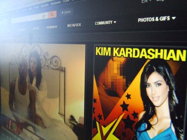 """Опубликована история """"домашнего порно"""" Ким Кардашьян"""