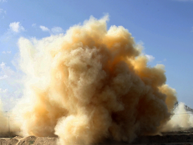 Взрыв на севере Синая (архив)