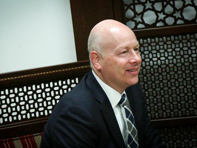 спецпосланник США на Ближнем Востоке Джейсон Гринблатт