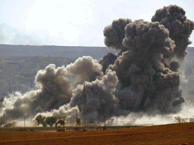 В зоне сирийского конфликта