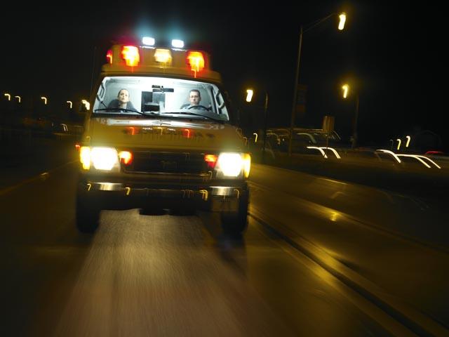 В результате двух ДТП на дорогах Израиля тяжело травмированы два человека