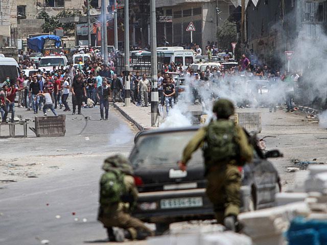 На КПП возле Бейт-Эля вспыхнули беспорядки: пострадали не менее 13 арабов