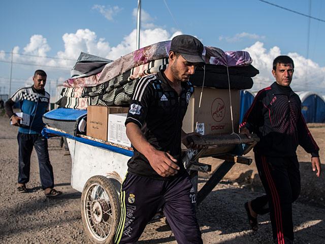 ООН: Мосул покинут еще 200.000 беженцев