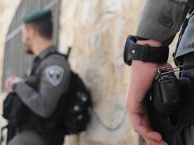 В ходе беспорядков в арабских деревнях пострадали двое бойцов МАГАВ