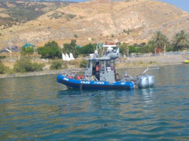 У берегов Кинерета пропал 25-летний мужчина, полиция продолжает поиски