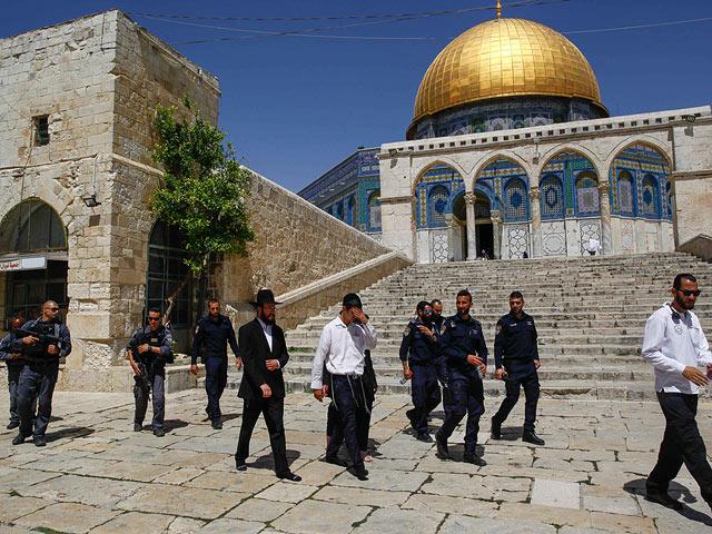 Полиция запретила евреям подниматься на Храмовую гору до окончания праздника Ид аль-Фитр