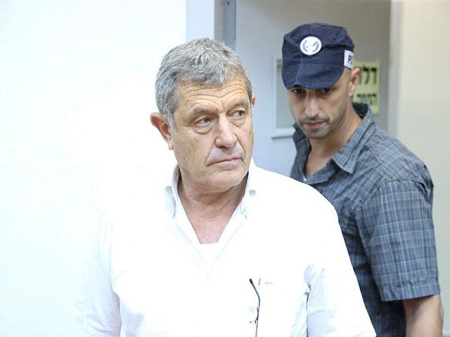 Мики Ганор в суде Ришон ле Циона, 10 июля 2017 года