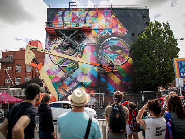 UpFest 2017: крупнейший фестиваль граффити в Европе. Фоторепортаж