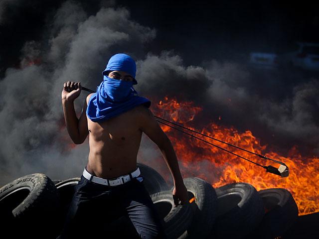 Беспорядки в Самарии, ранены семь палестинских арабов