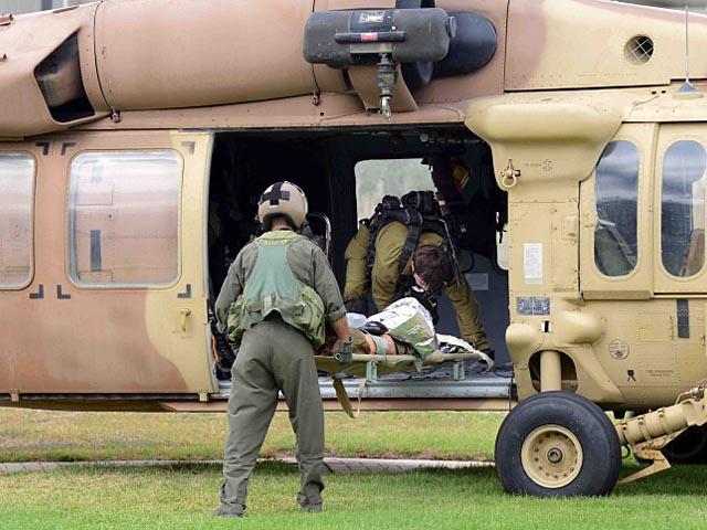 Улучшилось состояние пилота Apache, пострадавшего во время тренировочного полета