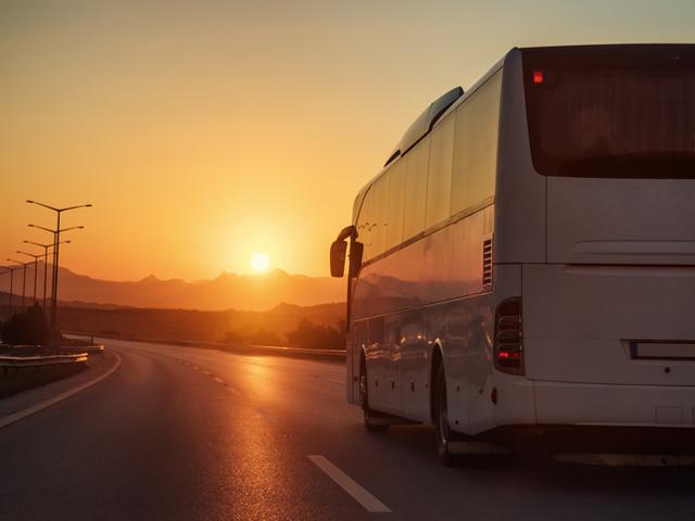 В Польше перевернулся туристический автобус
