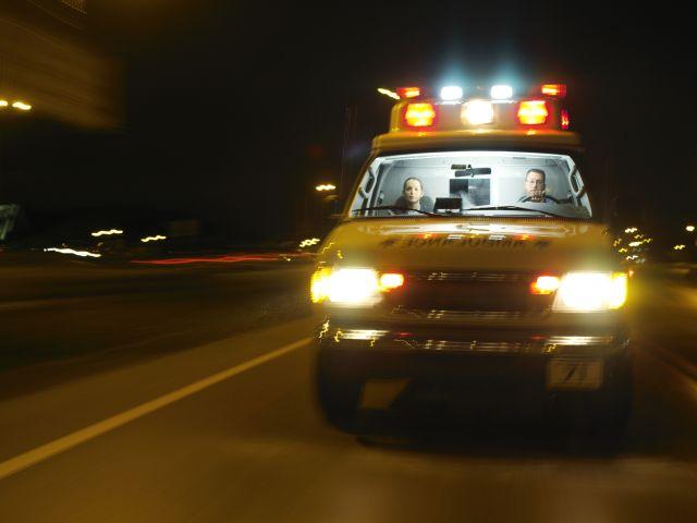 В Западной Галилее автомобиль врезался в стену, тяжело травмирована женщина-водитель