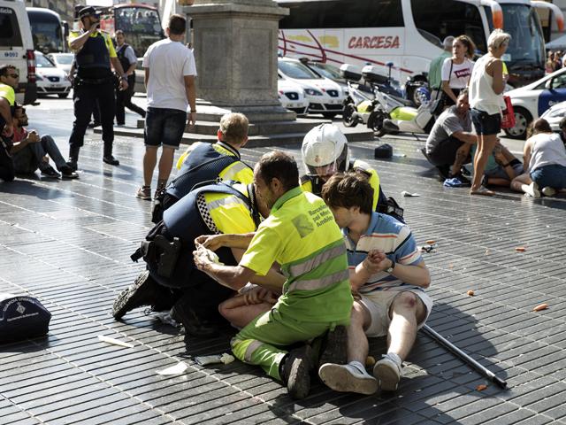 На месте происшествия. Барселона, 17 августа 2017 года