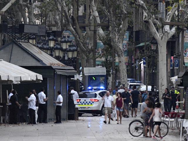 Главный подозреваемый в барселонском теракте был убит полицией минувшей ночью