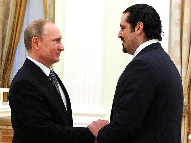 Владимир Путин и Саад аль-Харири
