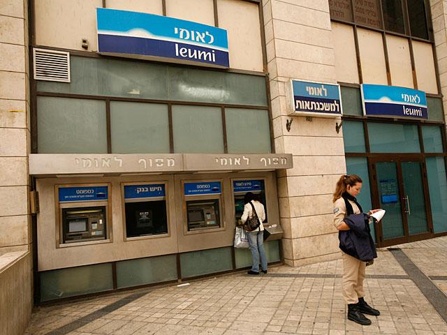 """Полиция провела обыски в трех отделениях банка """"Леуми"""""""