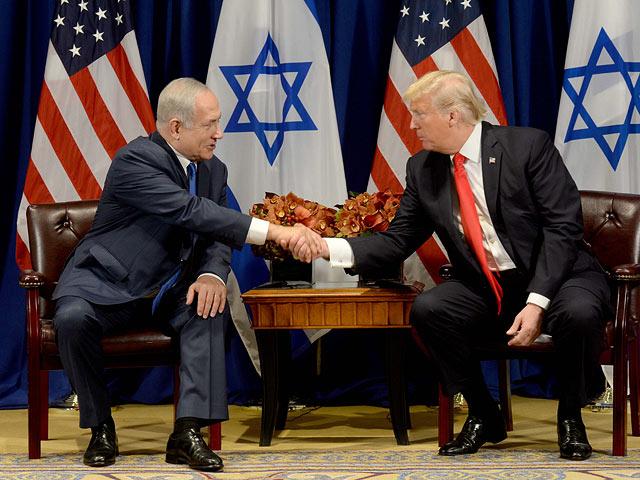 Бияньмин Нетаниягу и Дональд Трамп. 18 сентября 2017 года