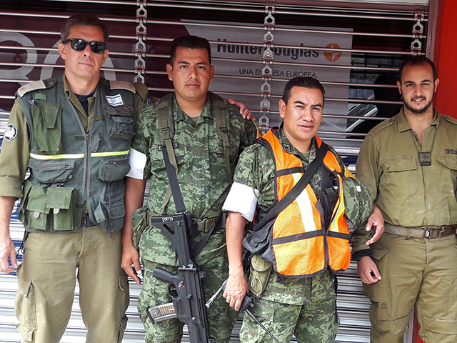 Израильская миссия в Мексике