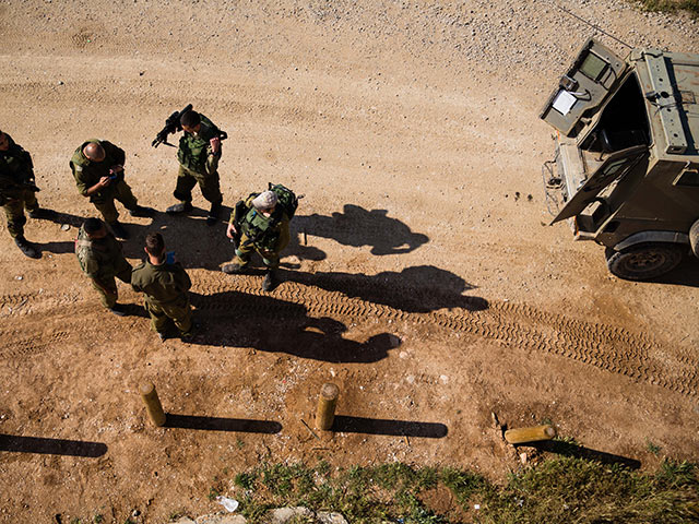 На границе Газы обстрелян армейский патруль, нанесен ответный удар по посту ХАМАСа