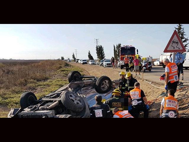 ДТП возле Кирьят-Малахи: двое погибших, трое пострадавших