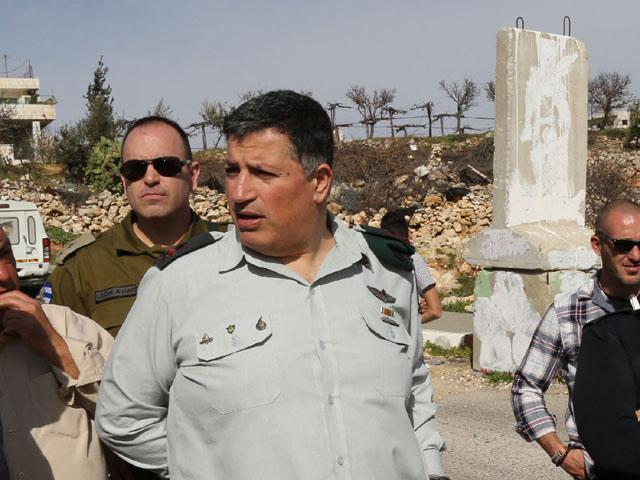 Координатор действий правительства на территориях генерал Йоав Мордехай