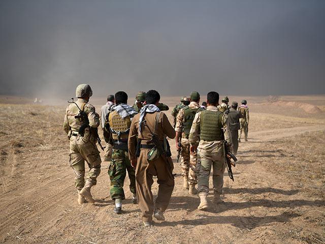 """Курдские войска отступают без боя, """"Пешмерга"""" покинула Синджар"""