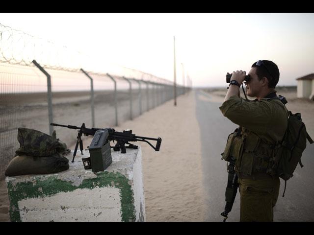 Около границы с Газой задержан нарушитель