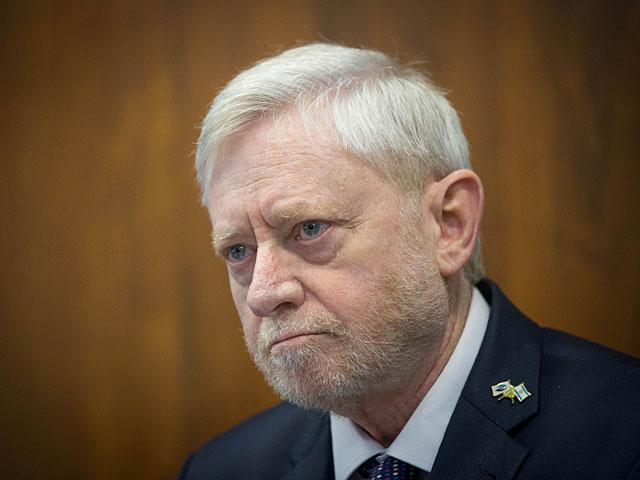 Государственный контролер Йосеф Шапира