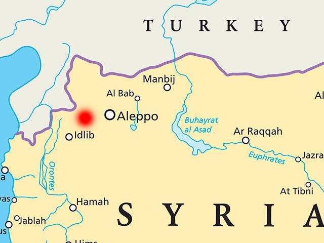 Аль-Атареб, Сиря