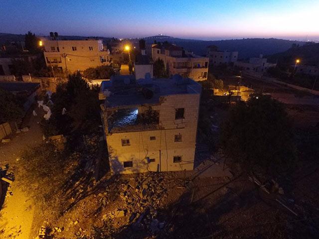Разрушение дома Махмуда Ахмада аль-Джамаля. 15 ноября 2017 года