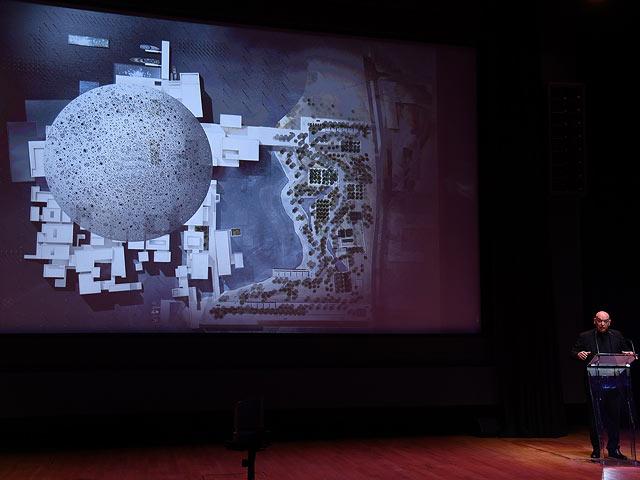 Презентация проекта  Лувра Абу-Даби. Париж, сентябрь 2017 года