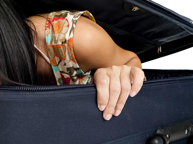 22-летняя грузинка попыталась попасть в Турцию в чемодане