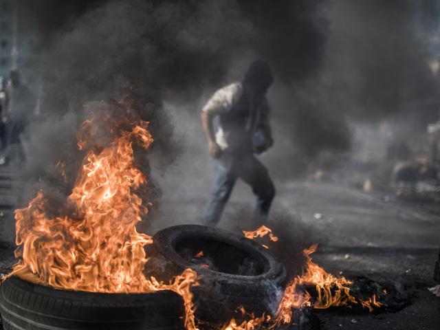 Беспорядки на границе сектора Газы, в Иудее и Самарии