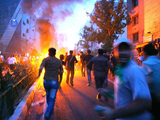 Акция протеста в Иране (архив)