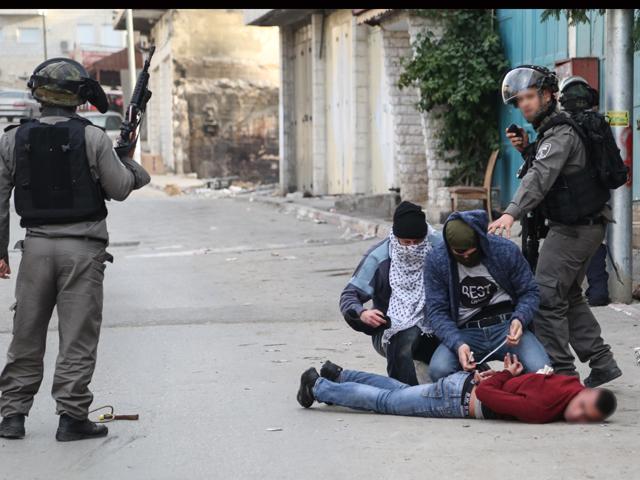 """""""Псевдоарабы"""" задержали трех участников беспорядков в Абу-Дисе"""