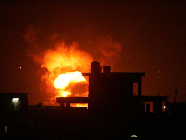 ВВС ЦАХАЛа атаковали объекты на юге сектора Газы