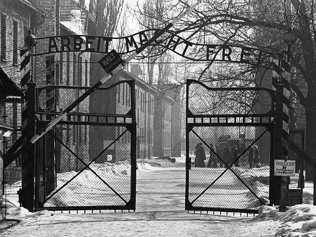 """Вынесены приговоры участникам """"голой"""" акции протеста около ворот Освенцима"""