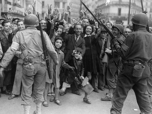 Алжир, 1942 год