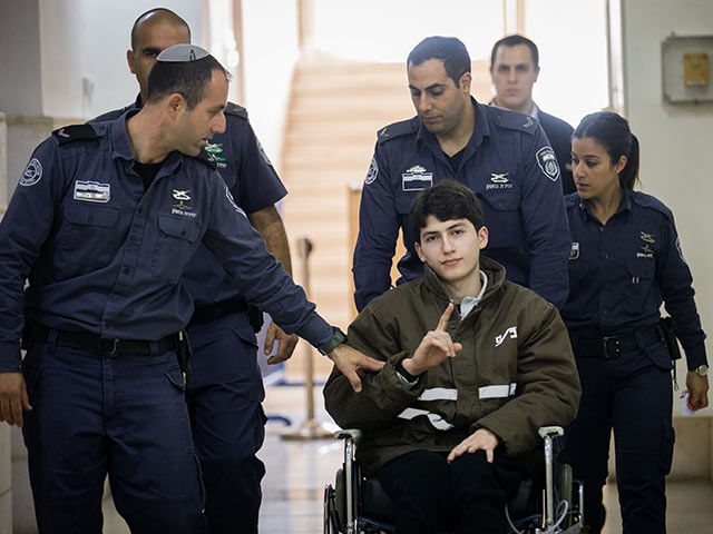 Айман Курд в суде. 13 февраля 2018 года