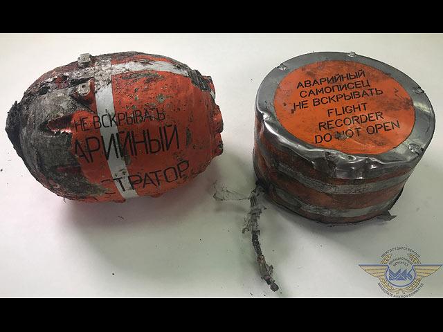 На бортовом самописце Ан-148 обнаружена запись последнего полета самолета