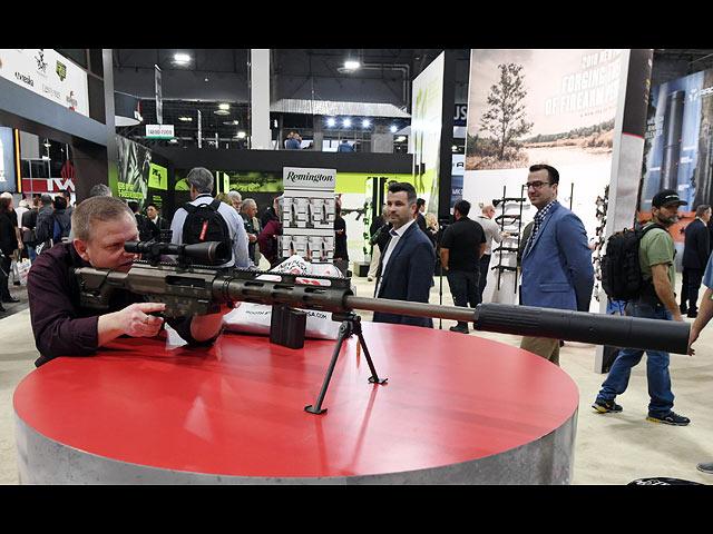 Винтовка Remington на выставке в Лас-Вегасе, январь 2018 года