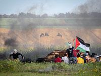 На границе Газы